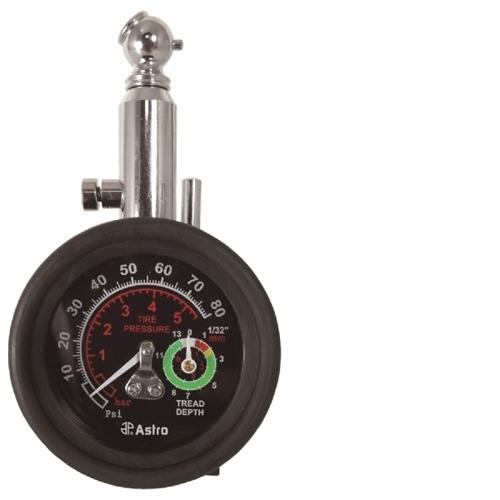 Astro Pneumatic 2-in-1 Tire Pressure and Tread Depth Gauge 3085