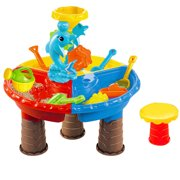 New brand Freedomgo Children Summer Beach Toy Large Baby Play Water Digging Sandglass Play Sand Tool
