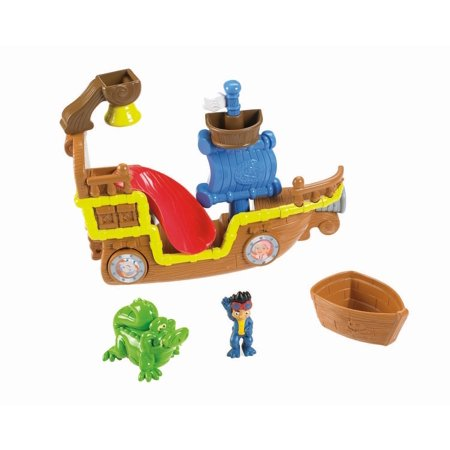 Fisher-Price Jake and the Never Land Pirates Splashin' Bucky Bath Toy, Have fun bathtub action with Bucky By FisherPrice Ship from US (Jake Pirate Ship)