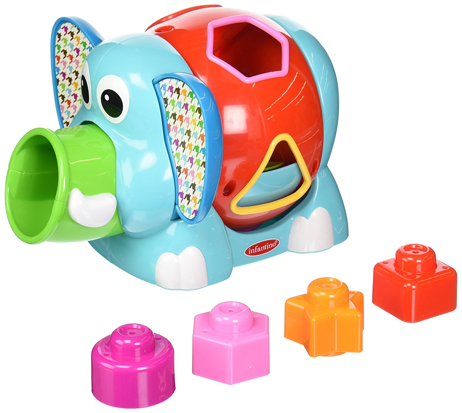 Jumbo Shape Sorter, Discontinued 38pc Therapy Lacing 36pg Nuts Busy Bolts Activity Store... by Infantino