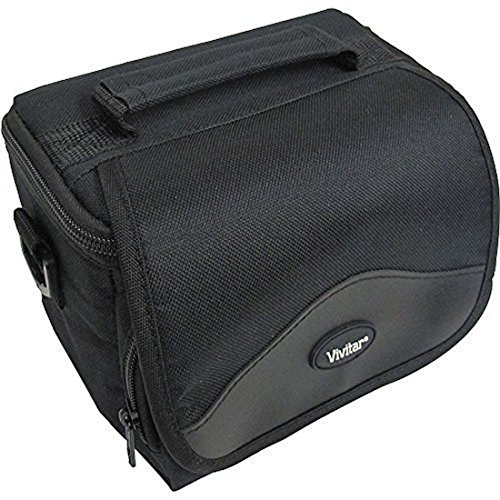 Black Digital Camera / Camcorder Bag