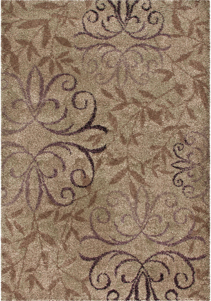 orian wild weave area rugs high pile floral curves ovals swirls petals rug
