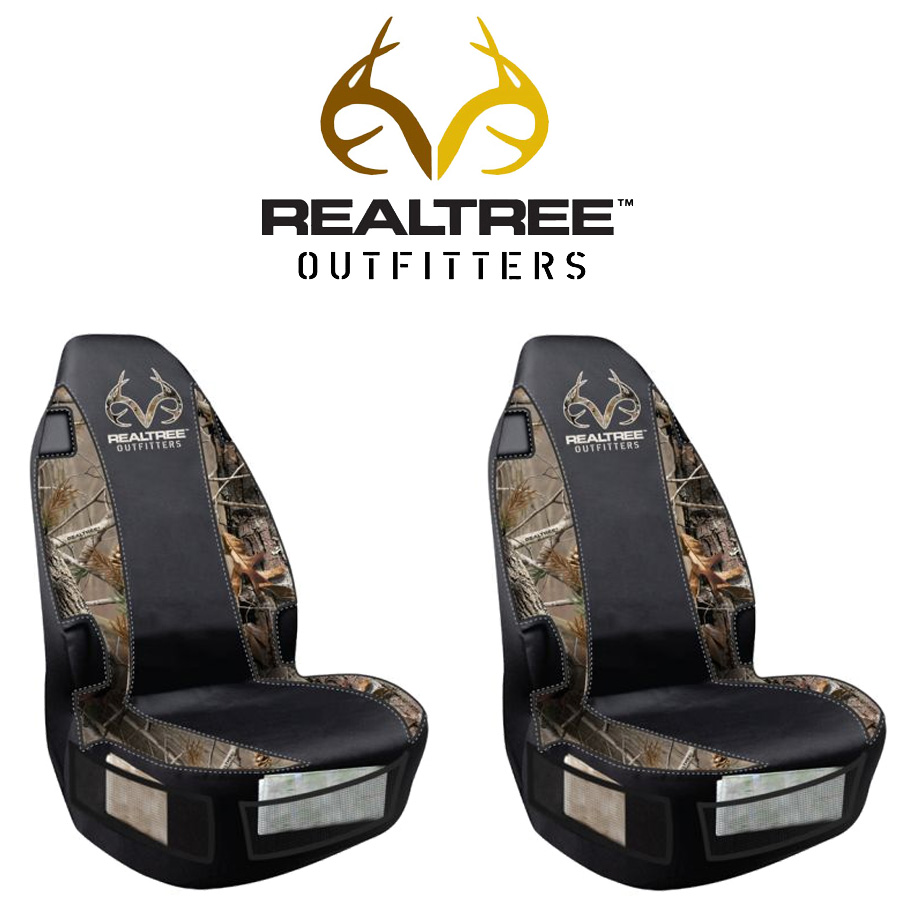 Front Car Truck Suv Bucket Seat Covers Realtree Outfitters