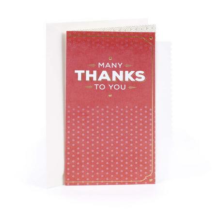 Hallmark Thank You Card (You're Appreciated) (Duck Thank You Cards)