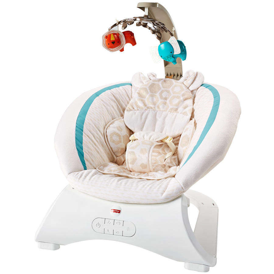 Fisher Price Deluxe Bouncer, Soothing Savanna by Fisher-Price