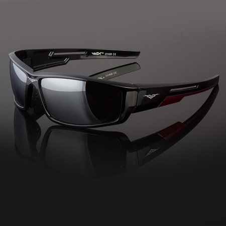 New POLARIZED Vertex Mens Anti Glare Fishing Cycling Driving Sport Sunglasses