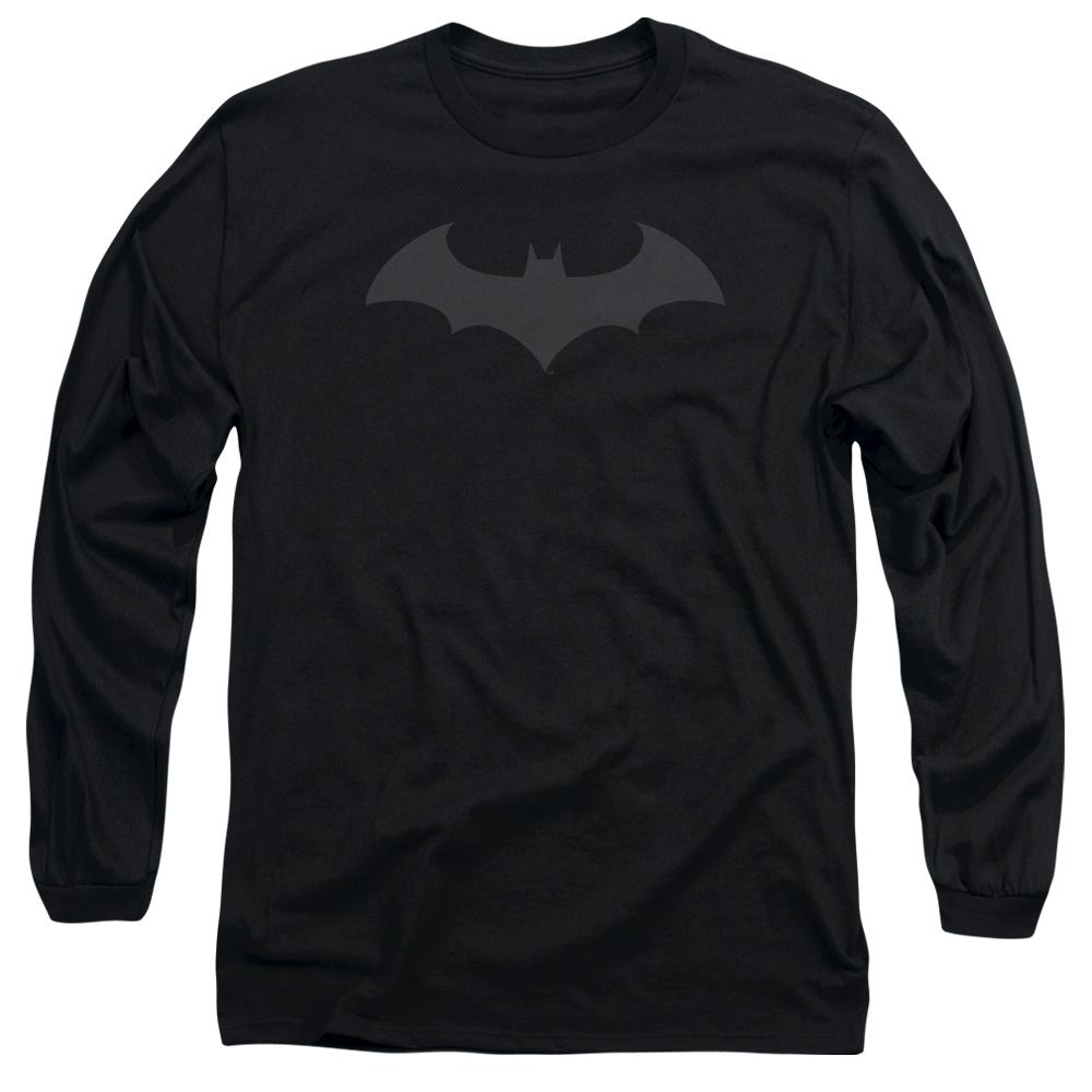 Batman Hush Logo Mens Long Sleeve Shirt by Trevco