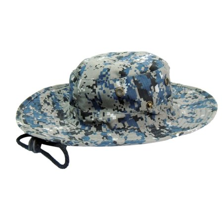 14e87731c0e39 Outdoor Fishing Military Cap Camouflage Printed Bucket Hats Men Male Jungle  Camo Fisherman Hat With Wide ...