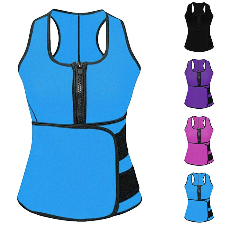 Hot Sweat Sauna Body Shaper Women Slimming Vest Thermo Neoprene Waist Trainer US