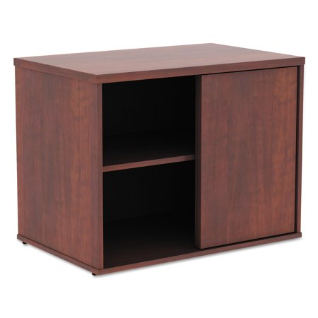 Image of Alera Alera Open Office Low Storage Cabinet Credenza, 29 1/2 x 19 1/8x 22 7/8, Cherry