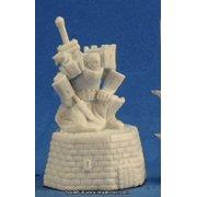 Reaper Miniatures Male Paladin #77303 Bones Unpainted Plastic RPG Mini Figure