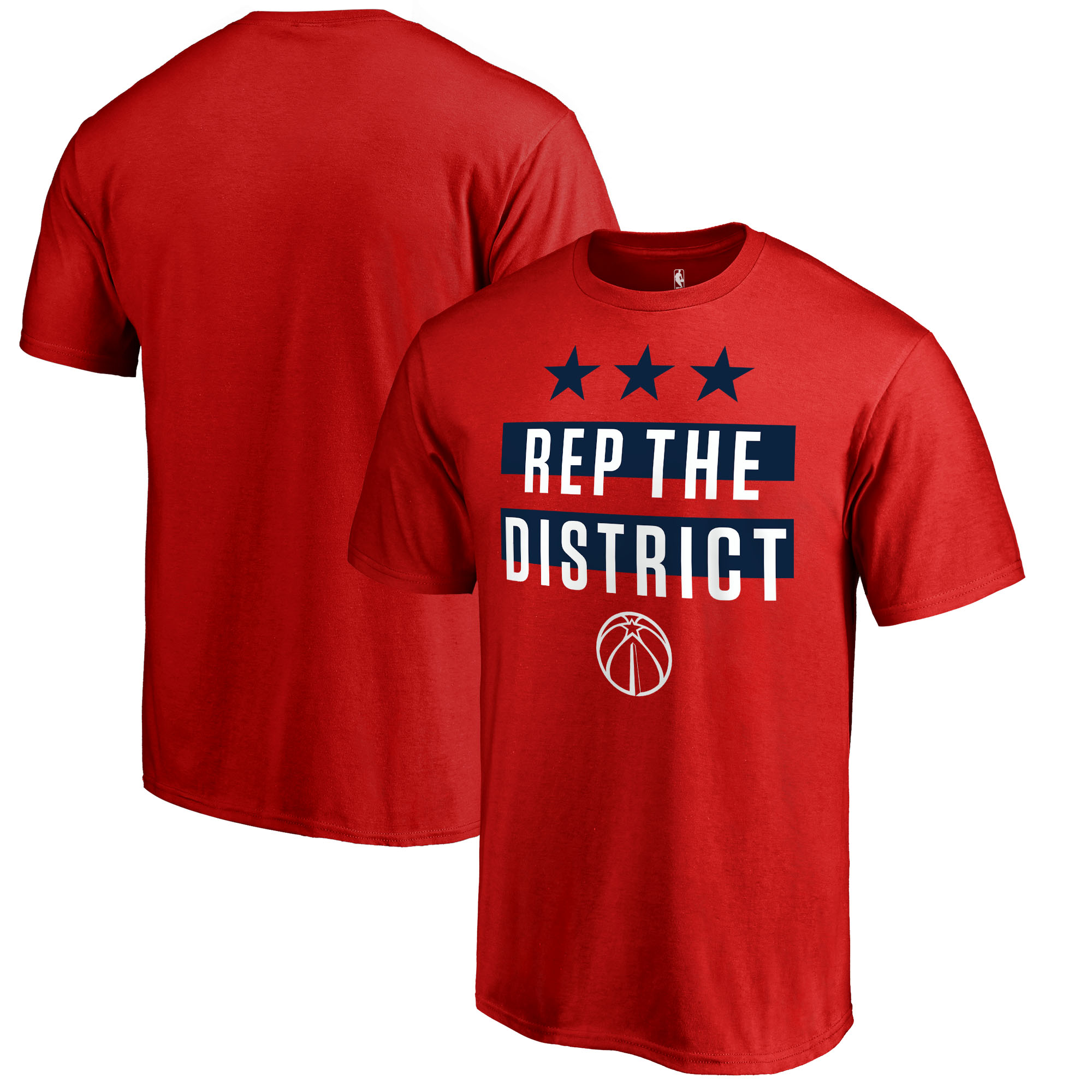 Washington Wizards Fanatics Branded Youth Hometown Collection Rep the District T-Shirt - Red