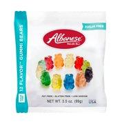 Albanese Sugar-Free Fat-Free Gluten-Free Assorted Flavors Gummi Bears, 3.5 Oz.