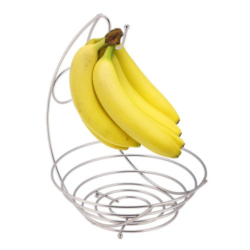 Symple Stuff Fruit Bowl with Banana Tree