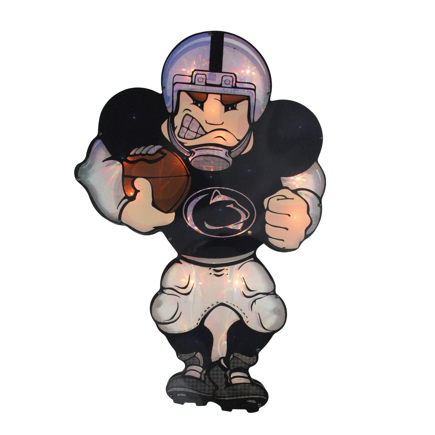 "20"" NCAA Football Penn State Nittany Lions Lighted Window Figure Player #2670"