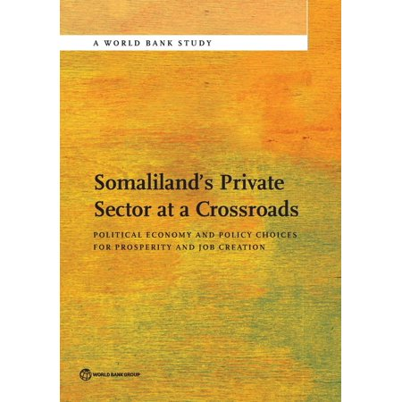 Somalilands Private Sector At A Crossroads  Political Economy And Policy Choices For Prosperity And Job Creation