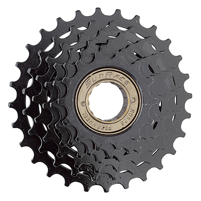 Sunrace Freewheel Multi Mfm05 14-28 6 Speed Friction Black