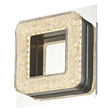 Artcraft Park Plaza AC7161 Bathroom Vanity Light A simple chrome-toned metal backing provides a sleek base for the Artcraft Park Plaza AC7161 Wall Sconce. A contemporary square of crushed crystal is brightly lit by a 6.4-watt LED bulb for dramatic accent lighting. Artcraft Since 1955, Artcraft Lighting has operated on the belief that beautiful lighting should be as much about the experience as the light fixtures themselves. And to create that meaningful experience, Artcraft Lighting strives to provide lighting products that are designed to meet your decor, lifestyle, and budget needs - all while ensuring top quality and impeccable customer service. With Artcraft Lighting products, you can reap the benefits of more than 60 years of lighting experience.
