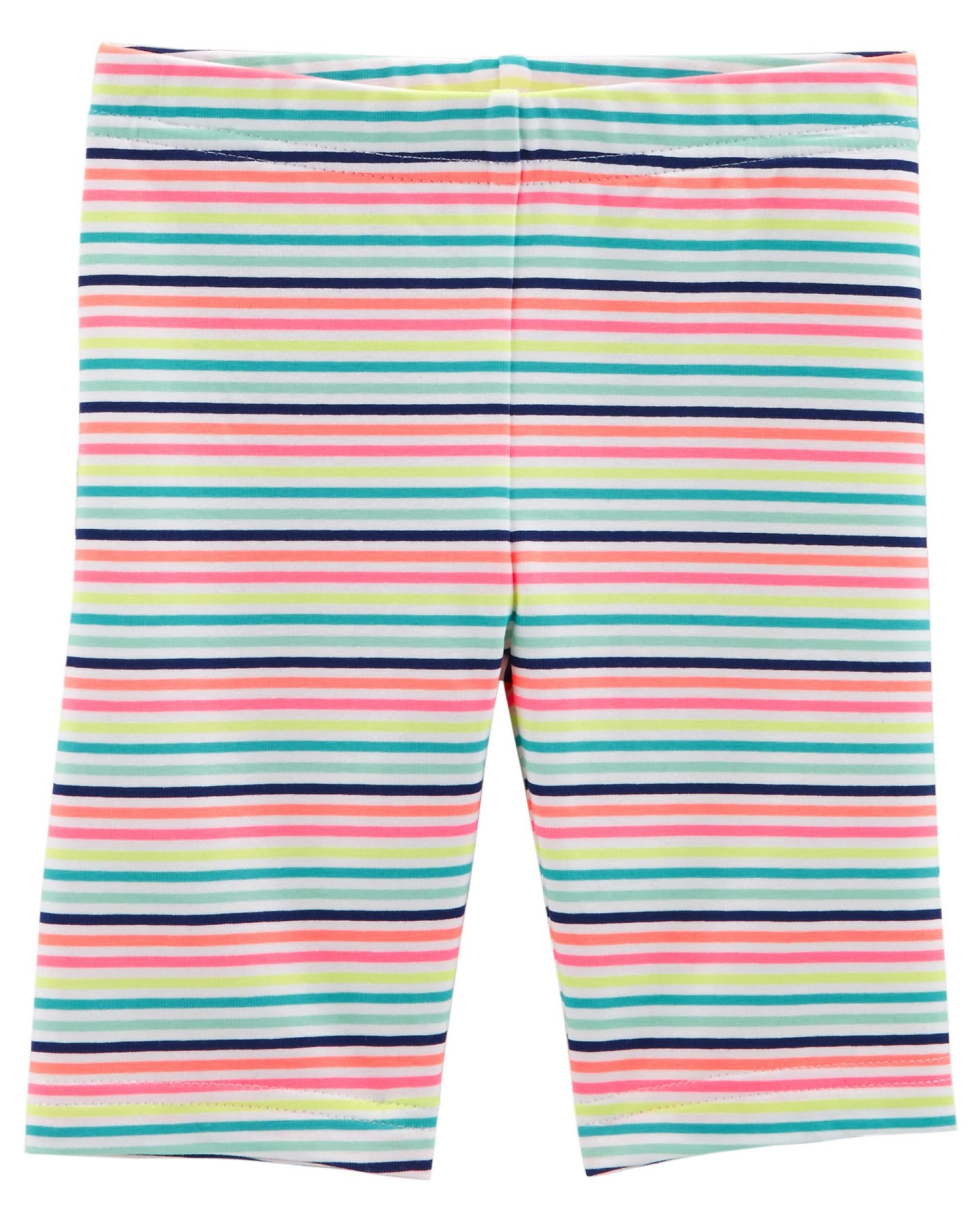 Carter's Baby Girls' Striped Tumbling Shorts, 18 Months