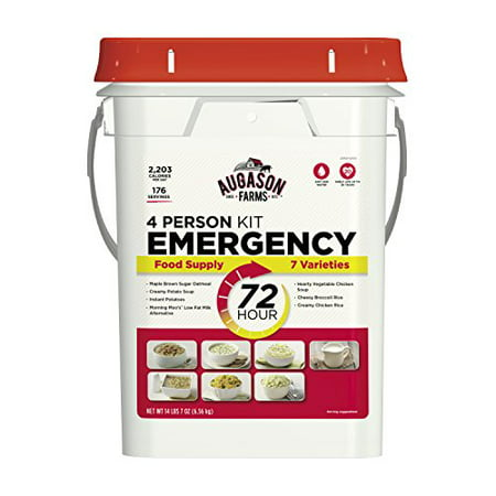 Augason Farms 5-20100 72-Hour 4-Person Emergency Food Storage Kit 14 lbs 7 oz - image 1 of 1