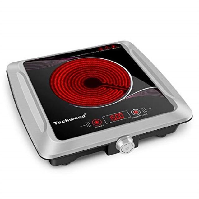 1500w Hot Plate Techwood Portable
