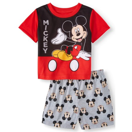 Mickey Mouse Short sleeve shirt & shorts, 2pc pajama set (toddler boys) (Mickey Mouse Tv For Sale)