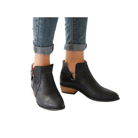 Ankle Boots Flats