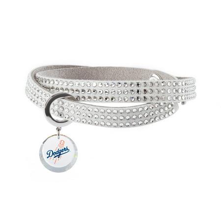 Los Angeles Dodgers Swarovski Home Run Bracelet - No Size