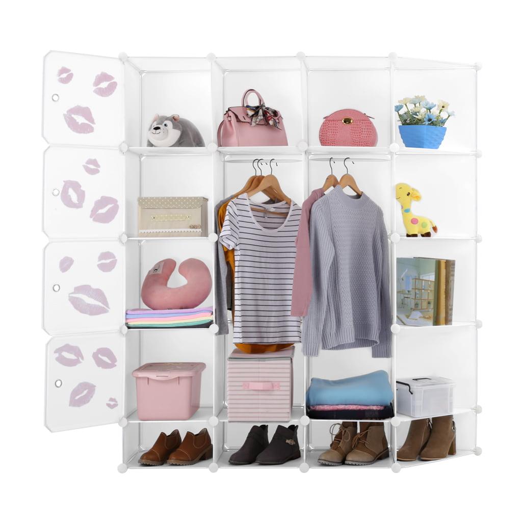 12-Cubby Storage Organizer, White