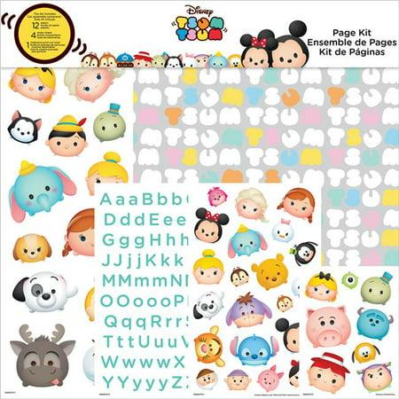 Disney Page Kit, Tsum Tsum - 12 x 12 in. - Walmart.com