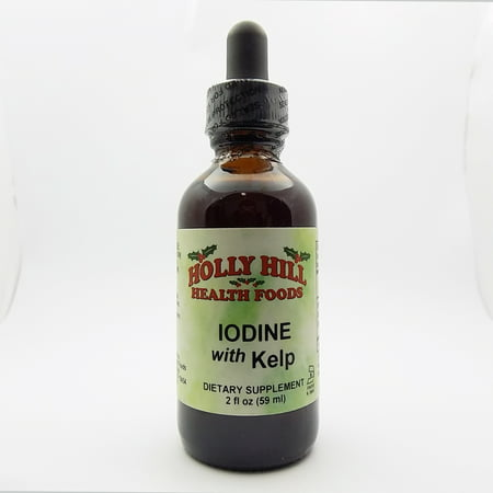Holly Hill Health Foods, Iodine with Kelp, 2 -