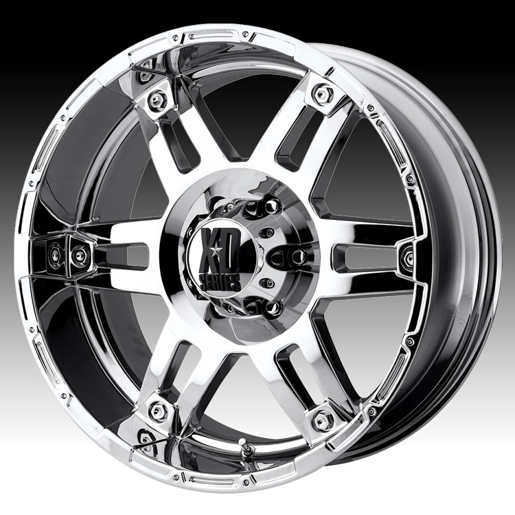KMC XD XD797 Spy Chrome 20x9 5x5 -12mm (XD79729050212N)