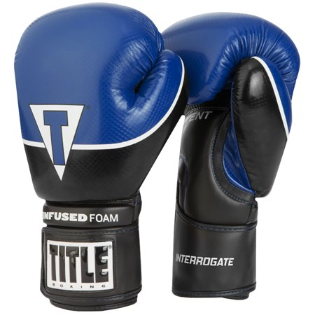 - Title Boxing Infused Foam Interrogate Hook and Loop Training Gloves