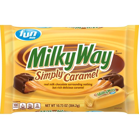 Milky Way Simply Caramel Milk Chocolate Bars - 10.73oz