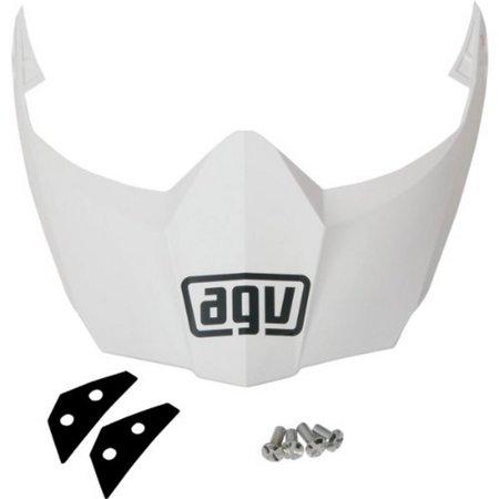 Agv Visor - AGV Helmet Visor for AX-8 Dual Sport/EVO - White KIT76109001