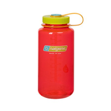 Nalgene 32oz Retro Wide Mouth Water Bottle - Orange