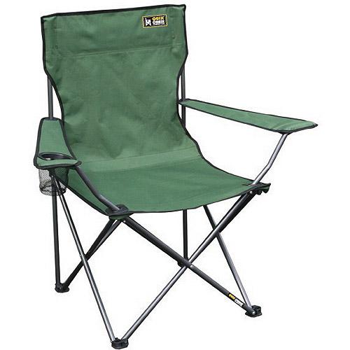 quik chair folding quad camp chair - walmart