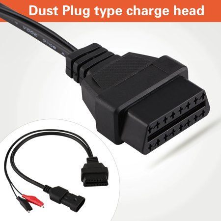 3 pin to 16 pin obd2 adapter connector diagnostic cable. Black Bedroom Furniture Sets. Home Design Ideas