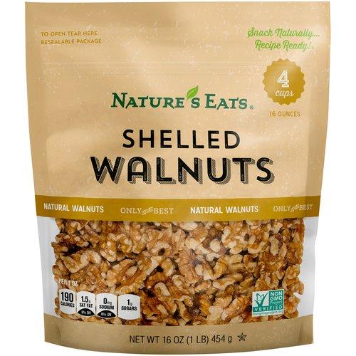Nature's Eats Shelled Walnuts, 16.0 OZ