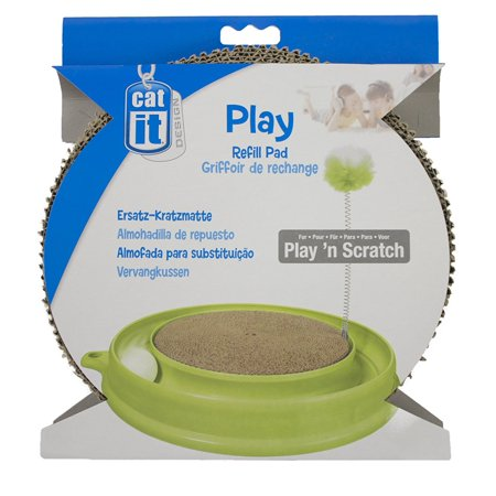 Play 'n Scratch Replacement Pad for Cat Toys By Catit Ship from US