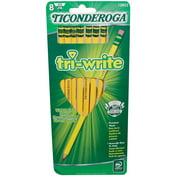 Dixon Ticonderoga Ticonderoga Triangular #2 Soft 8 ct (13852)