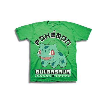 Boys' Starter Bulbasaur Character Shot Short Sleeve Graphic T-Shirt