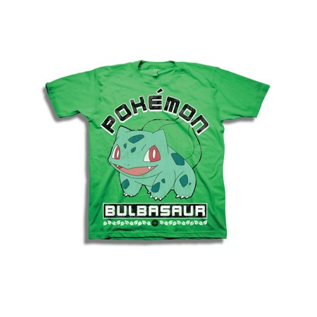 Boys' Starter Bulbasaur Character Shot Short Sleeve Graphic T-Shirt