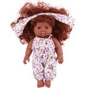 "11.8"" Reborn Newborn Girls Baby Real like Doll Full Body Silicone Cute Doll for Kids Xmas Birthday Gifts"
