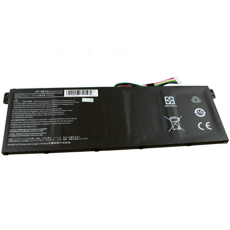 New 3-Cell Battery for Acer Chromebook 11 C730 C730E, 13 C810, 15 C910, 13 CB5-311, 15 CB3-531, 15 CB5-571, Aspire R3-131T R5-471T R5-571T R5-571TG R7-371T R7-372T Laptop AC14B8K AC14B18J