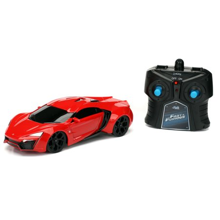 Jada Toys - Fast and Furious 1:24 Scale RC, Lykan Hypersport