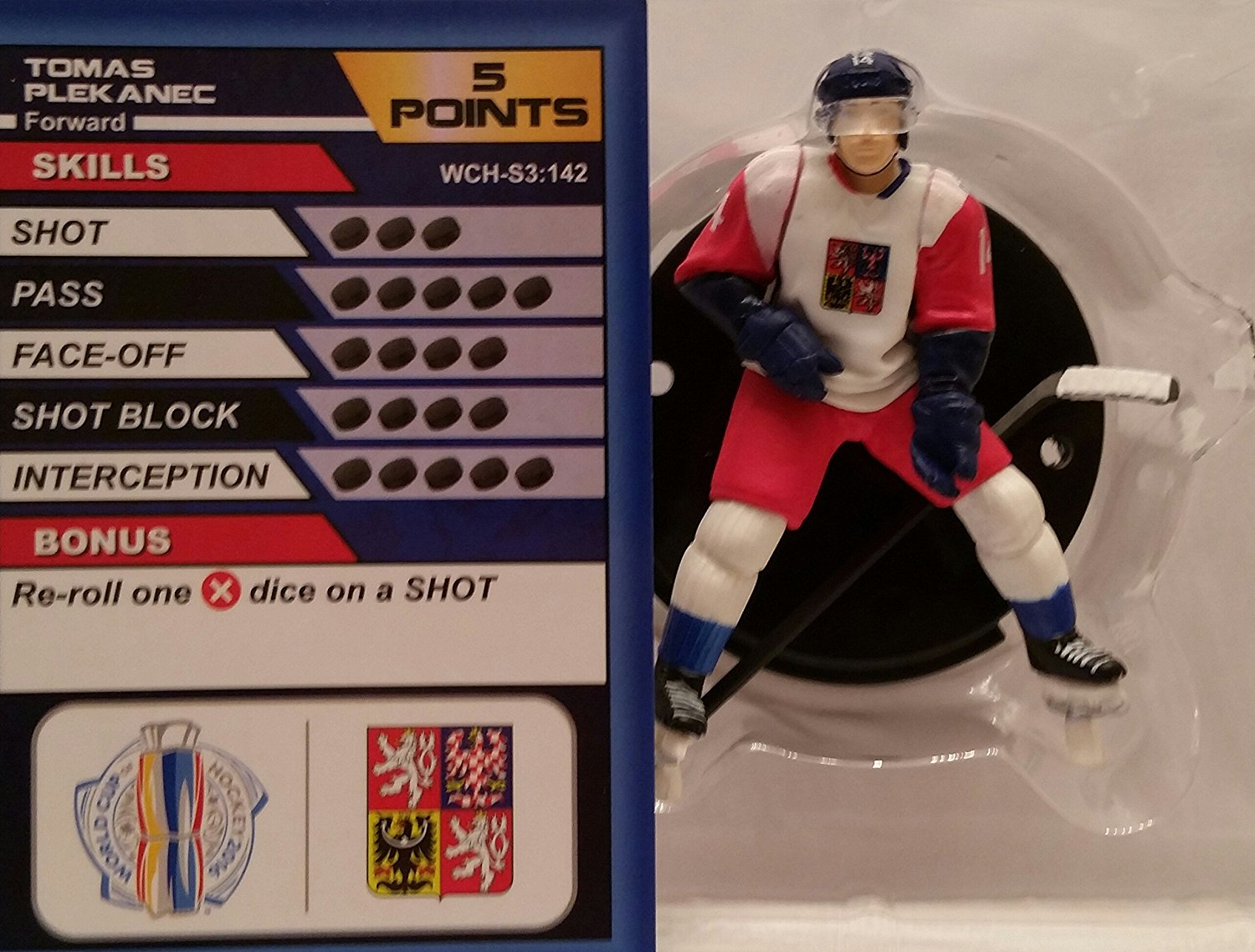 World Cup of Hockey Team Czech Republic Tomas Plekanec (Common) by