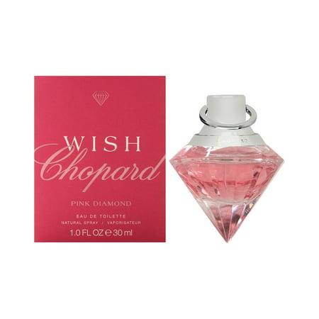 Chopard Diamond Ring Design (Chopard Wish Pink Diamond Eau De Toilette Spray)