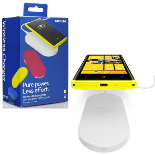 Nokia Qi Enabled Wireless Charging Plate DT-900 - White