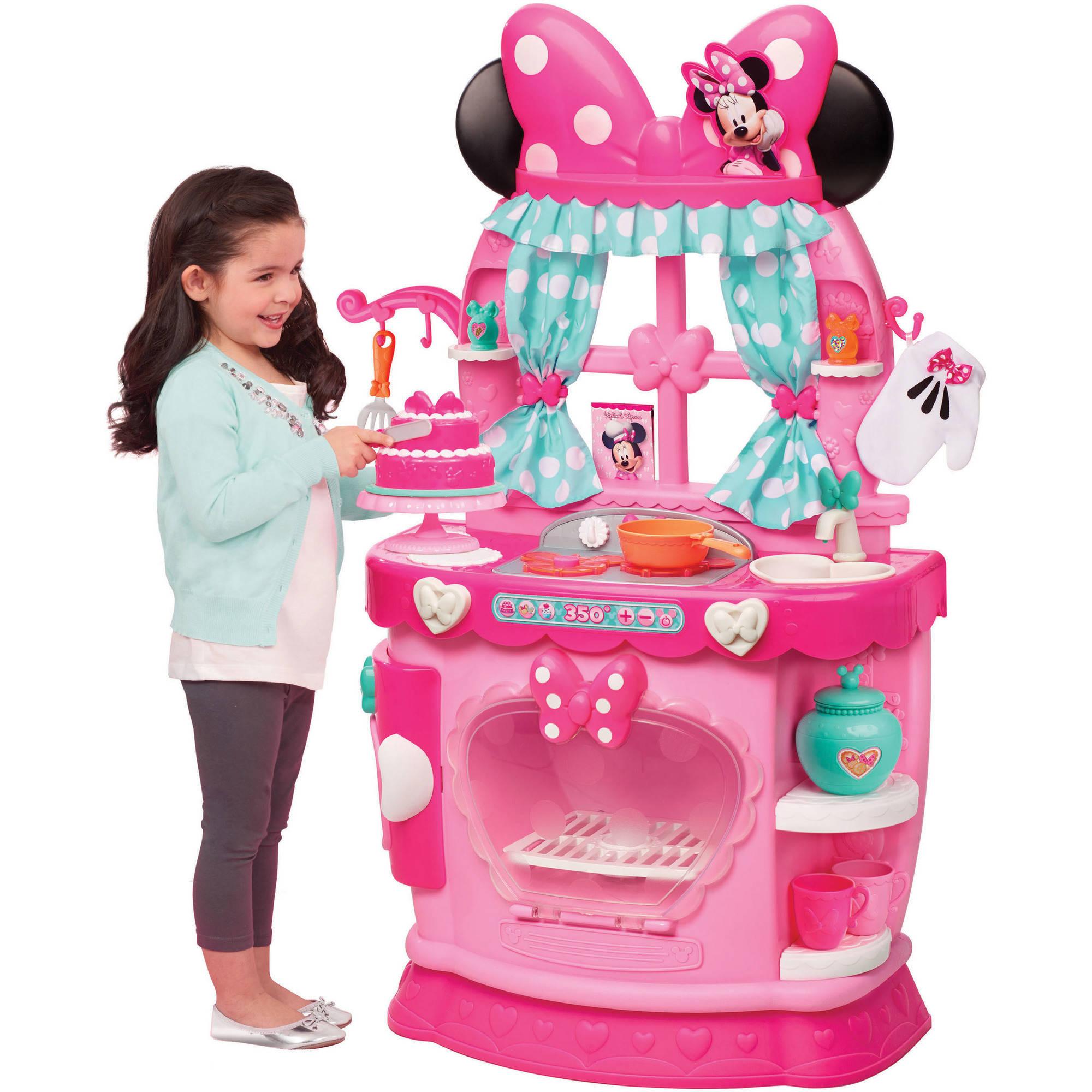 Disney Minnie Bow-Tique Sweet Surprises Kitchen - Walmart.com